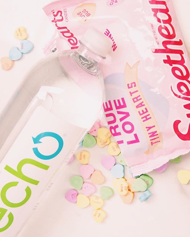 Sweet hydration 💕💦 #happyvalentines