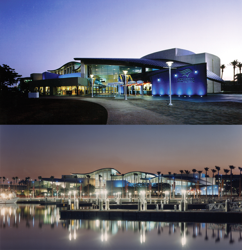 Aquarium of the Pacific Expansion - Location: Long Beach, CAClient: Aquarium of the PacificArchitectural Firm: EHDDYear Built: Construction expected to finish in 2018Expansion Size: 29,000 sq. ft.Awards: 2007 Livable Building Award