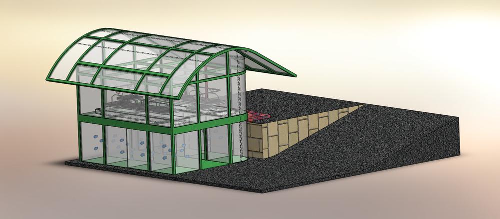 Aquaponic House Concept