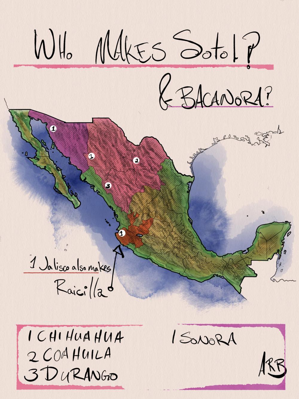 Raicilla is from Jalisco