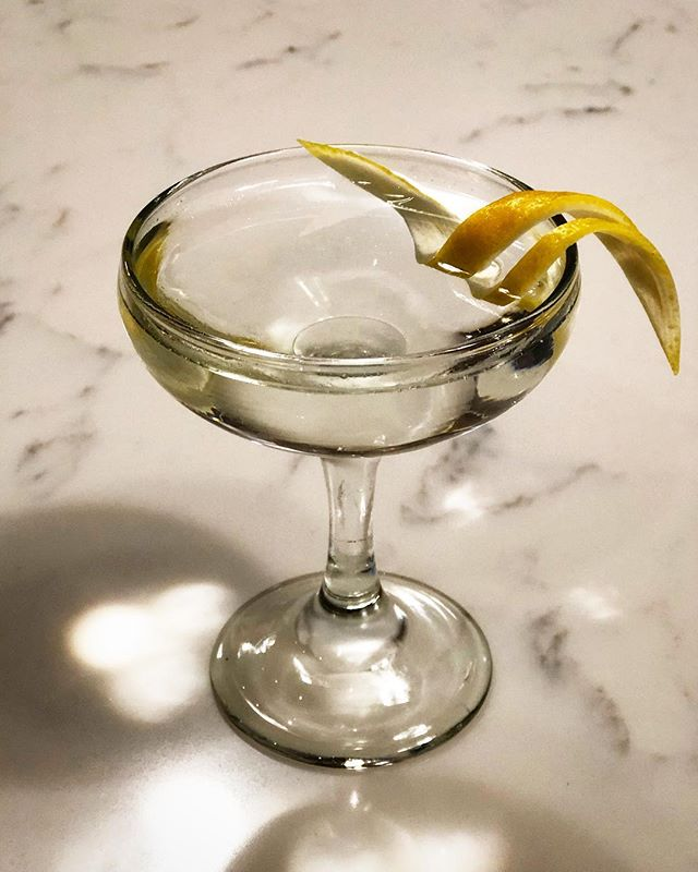I like to pretend I make a better #martini than I did 15 years ago, but it's really just that I use fresher #vermouth.