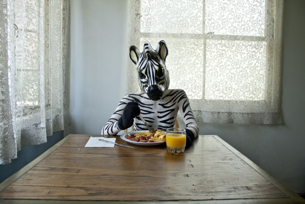 "From the series ""Zebras"" by Nina Lodico, appearing in Volume 2 of Winter Tangerine Review"
