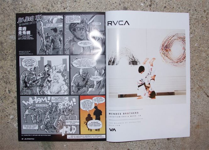 RVCA Ad by James Law