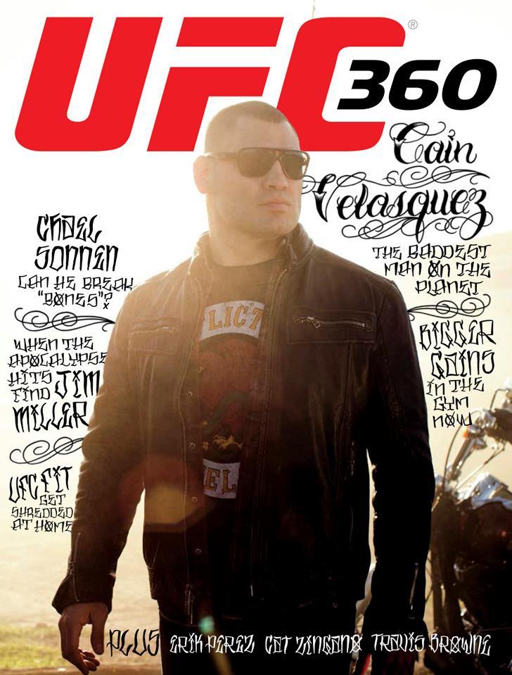 Cain Velasquez UFC 360