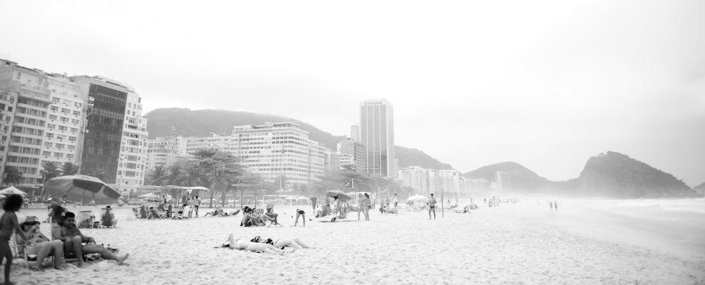 Copacabana Beach, Rio.