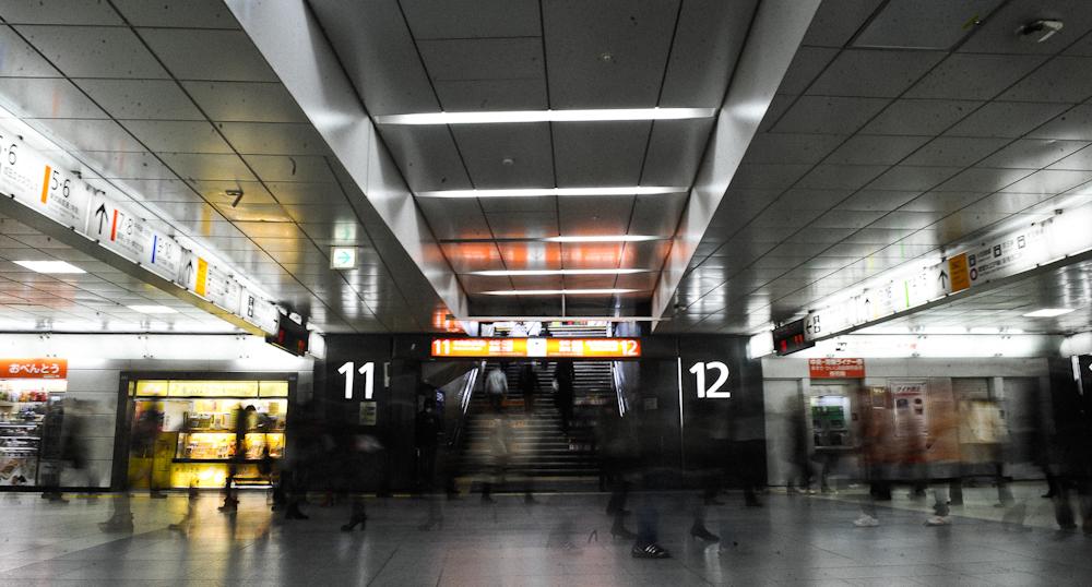 JR Rail in Tokyo