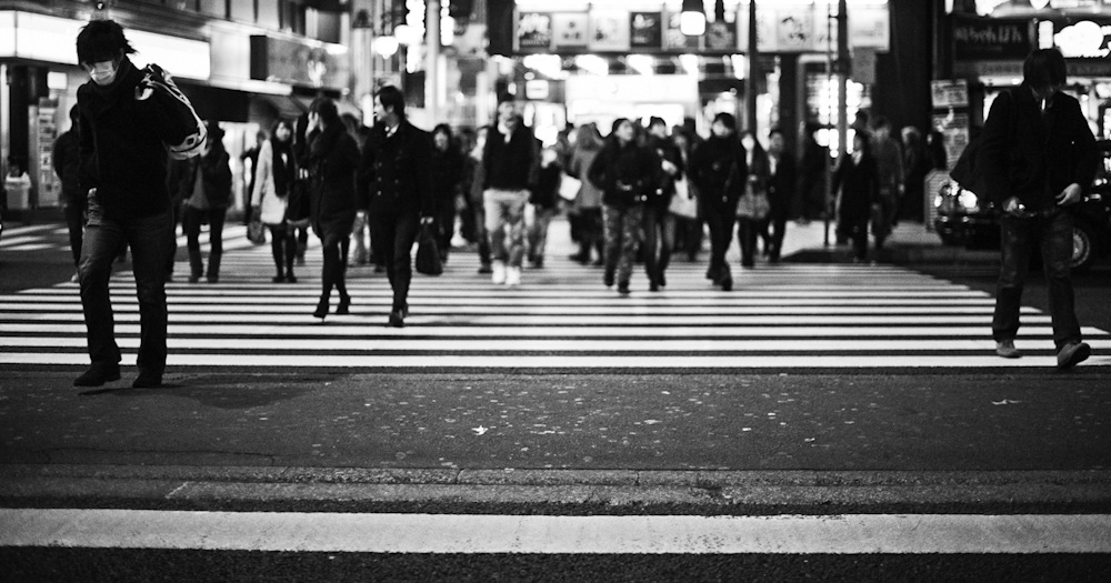 Shibuya Crosswalk in Tokyo