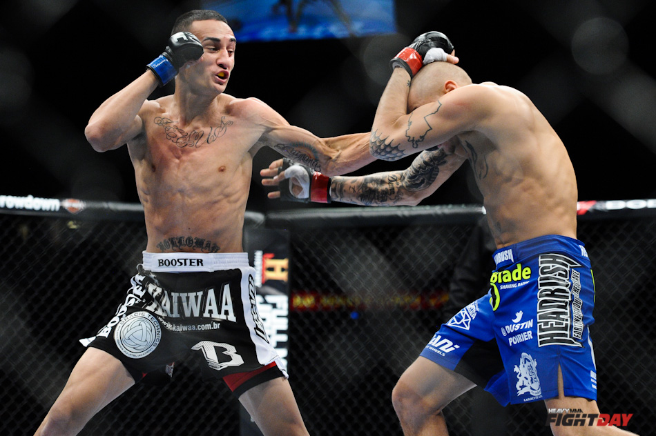 Max Holloway vs. Dustin Poirier UFC 143-3.jpg