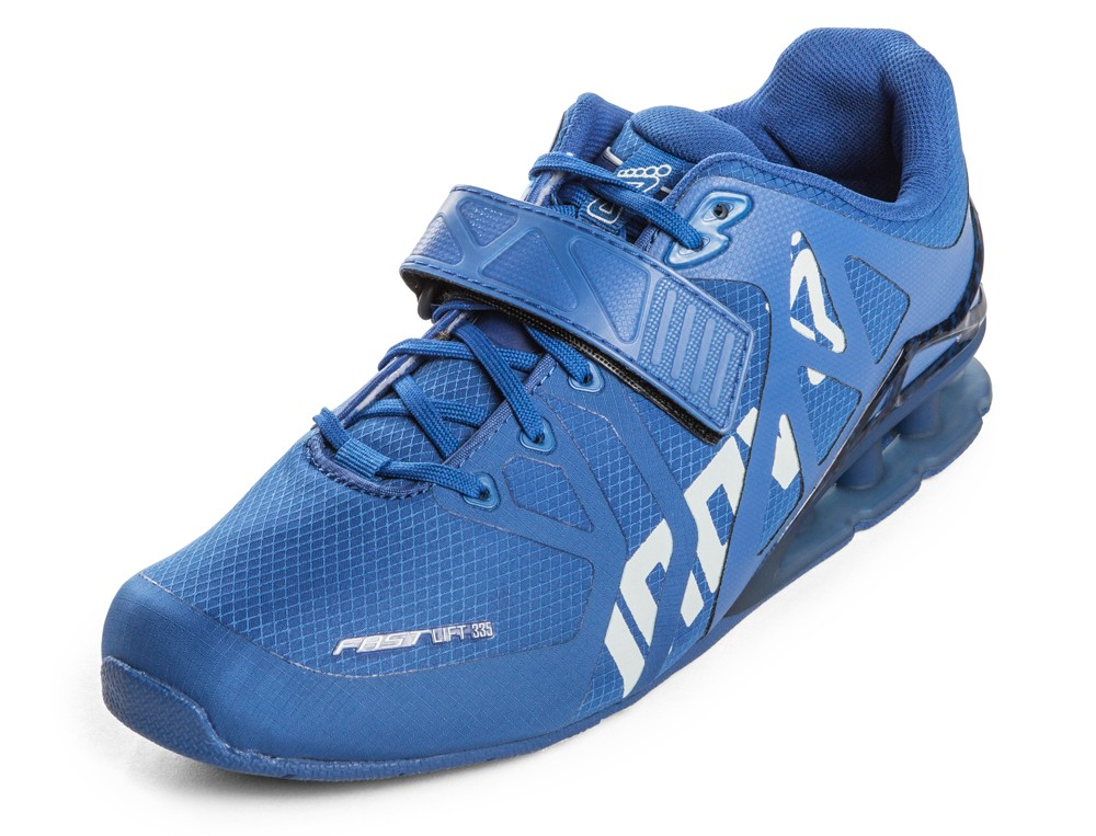 FASTLIFT™ 335 AF   Super light, but since you are pumping iron and not running the 100 yard dash, the weight is not too relevant. inov-8 has a couple of different pairs for  males  and  females . Make sure to select the correct one.