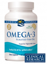 Omega-3   If your not currently taking these fatty acids, then you should start adding to your diet. It has been linked to maintaing a good heart and helping with cholesterol.