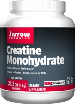 Creatine Monohydrate    Muscles naturally have a reservoir of creatine to help create ATP, the molecule required for muscle contraction. If you have more creatine in your body, then you can contract a muscle for a longer period of time. This translates into being able to sprint for a few seconds longer before feeling the need to slow down to catch your breath. If you want a more technical explanation, check out this   video .