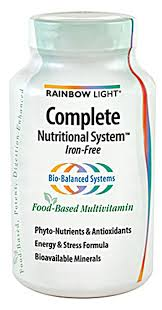 Complete Nutritional System™ Multivitamin   Contains multivitamin, antioxidants, and a few of the B vitamins. It is best to take these with your meals and a couple of doses throughout the day. Some of the vitamins are water soluble, so if your body does not absorb them you will just pee them out.