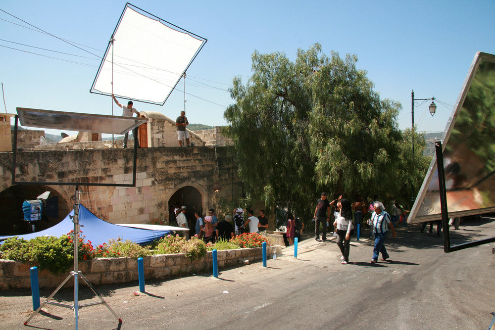 On location in Beirut, Lebanon