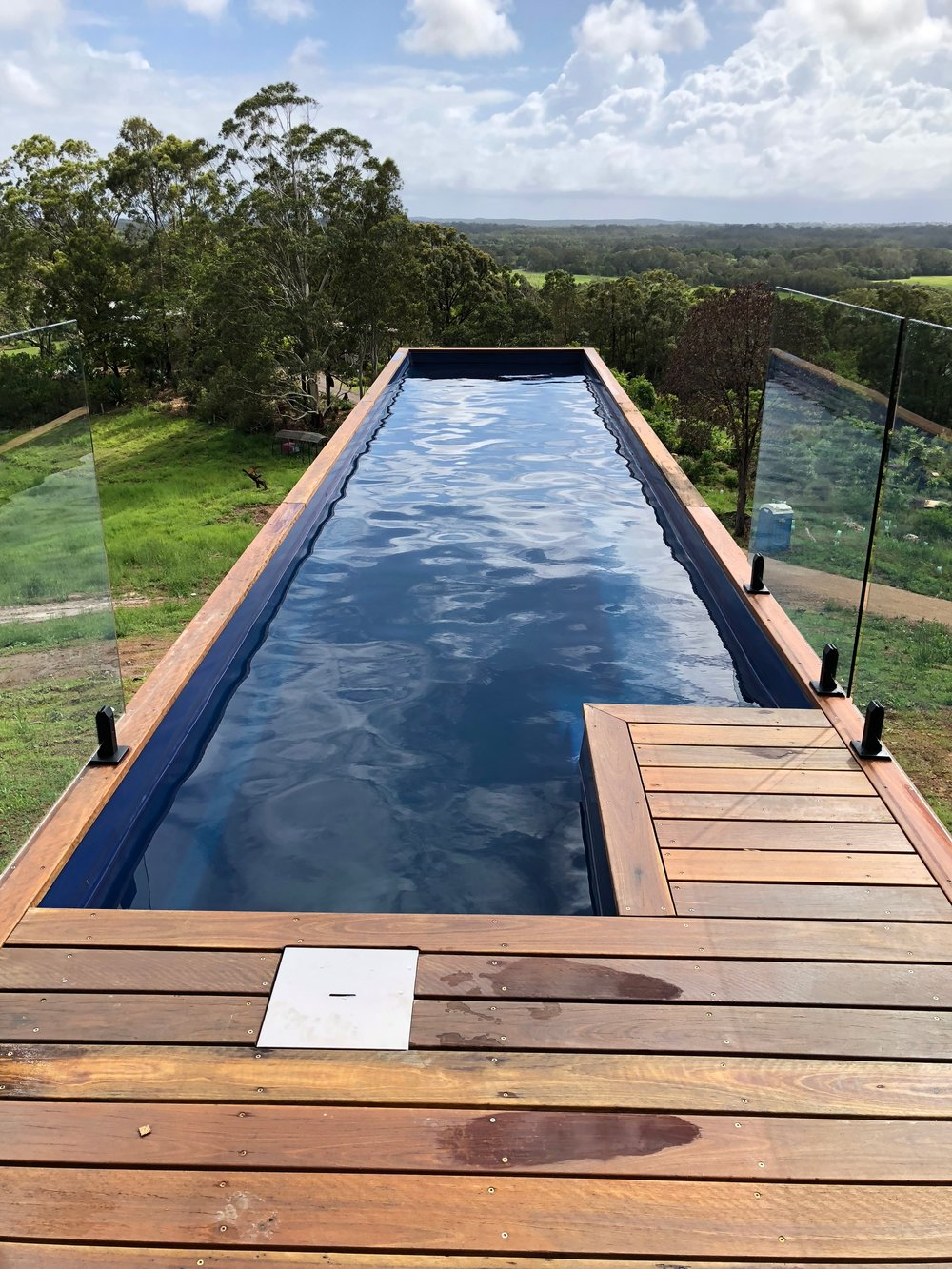 All in one design - Each Shipping Container Pool is pre-assembled with a complete filtration system in a controlled factory in Australia making it the most sustainable pool on the market. Learn more ➝