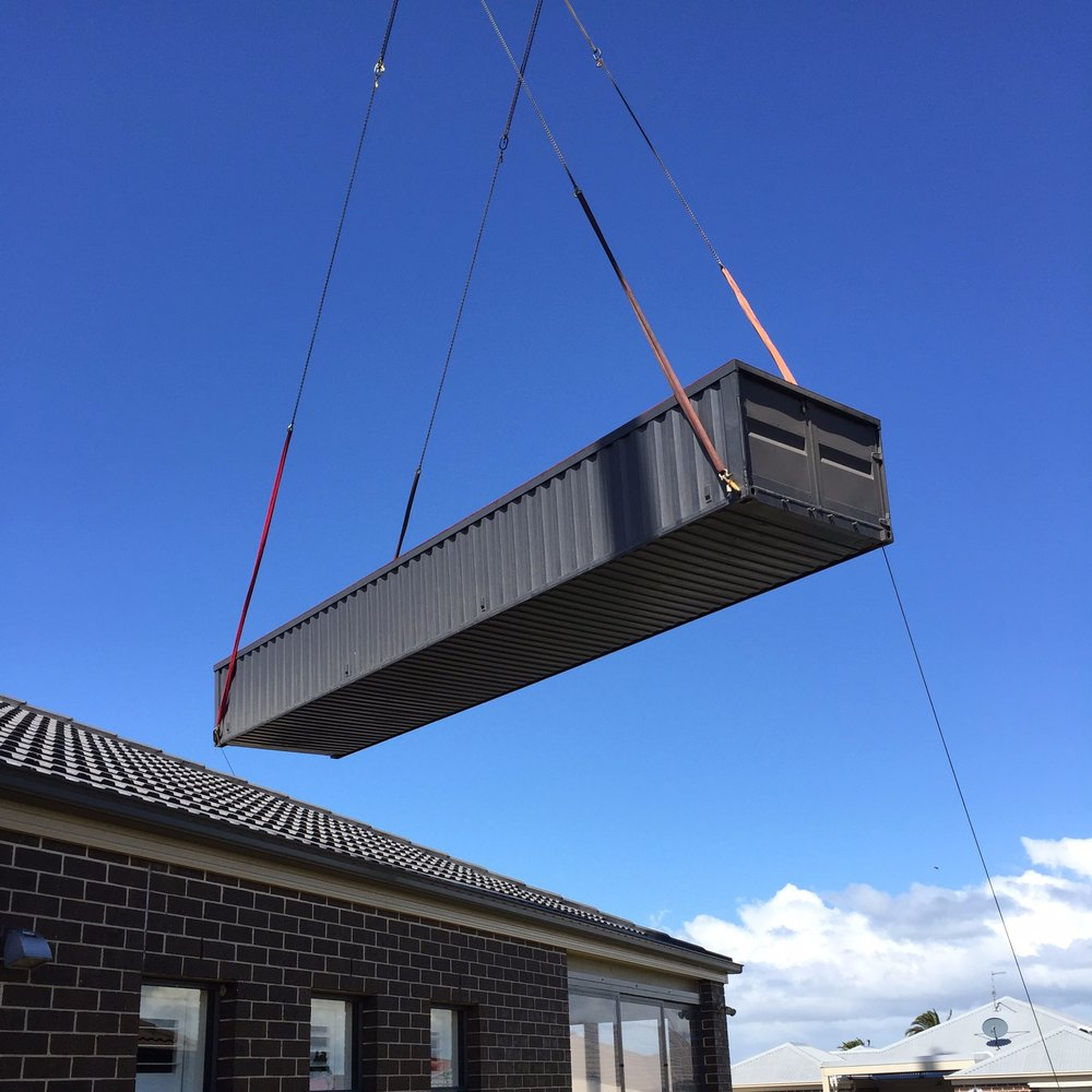 Move it - Moving House? Now you can take your pool with you. Your new Shipping Container Pool is fully portable. Just follow our relocation procedure to maintain your warranty.
