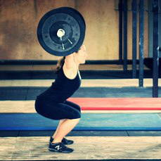 CI Community :: Molly Dunham.  Our weightlifting homesteader likes just the breath.