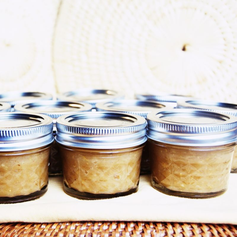 CI Sustenance ::  Spicy Apple-Pear Butter {home-grown, of course}