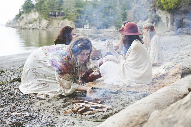 Mingle & Somerset Life Magazines' Bohemian Beach Shoot features all Moon Storm Sisters.  by Vivienne McMaster, article by Madelyn Mulvaney, styled by Jennette Neilsen.