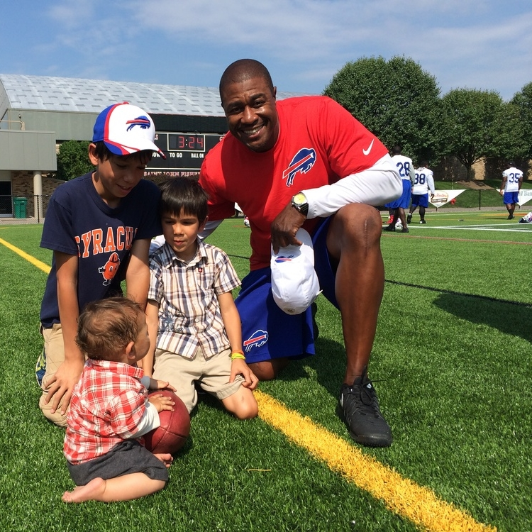 CI Sports :: It's a Wrap @ the Bills.  Camp ends it for some. Not for our players.