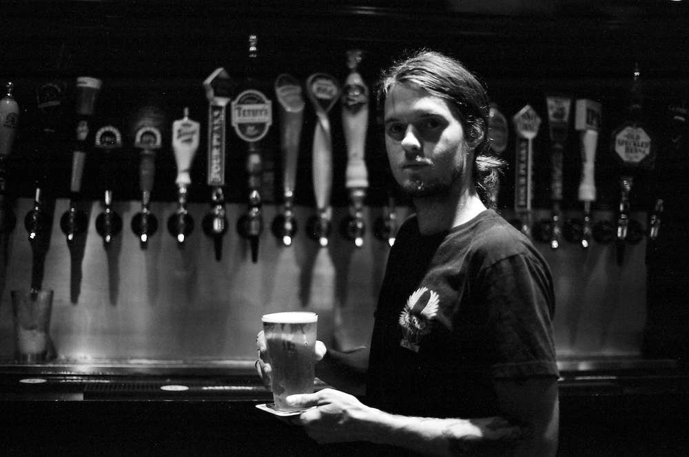 Bartender at Cornish Pasty, Tempe