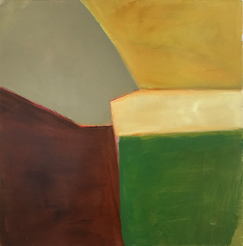 RURAL LANDSCAPE  2018, oil on canvas, 50cm x 50cm $380