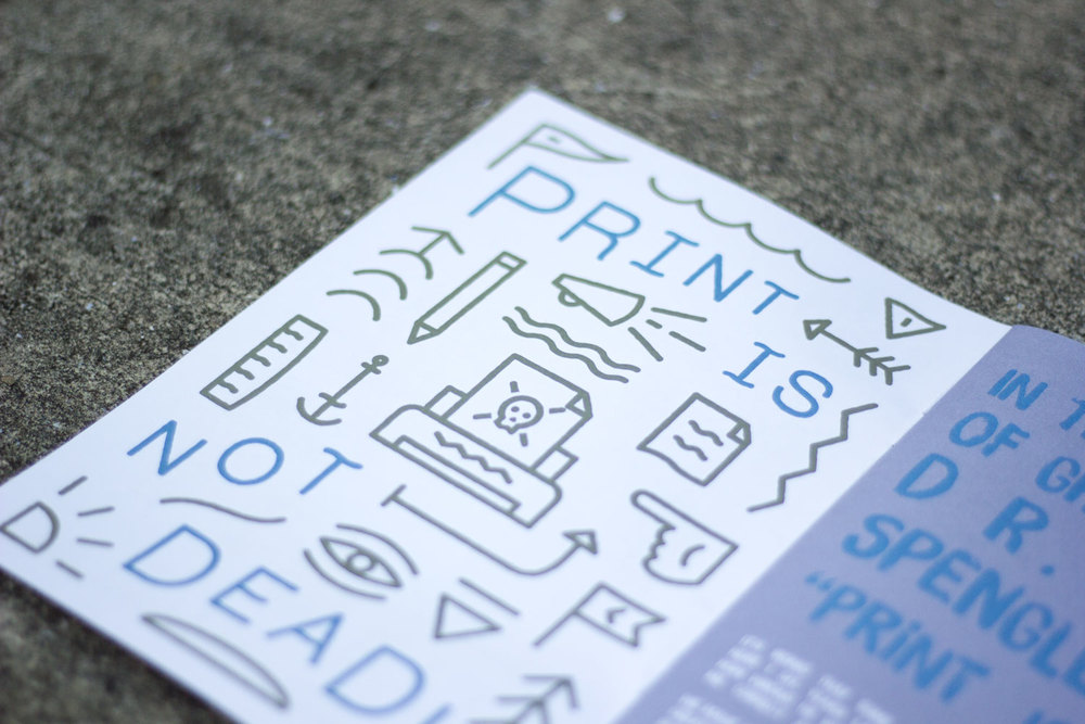 Print Is Not Dead - Issue#1