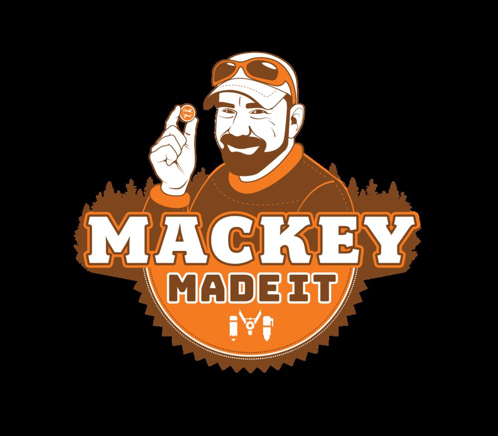 Mackey Made It - Logo design for Christian Mackey, avid geocacher and acclaimed geocoin designer.#MackeyMadeIt