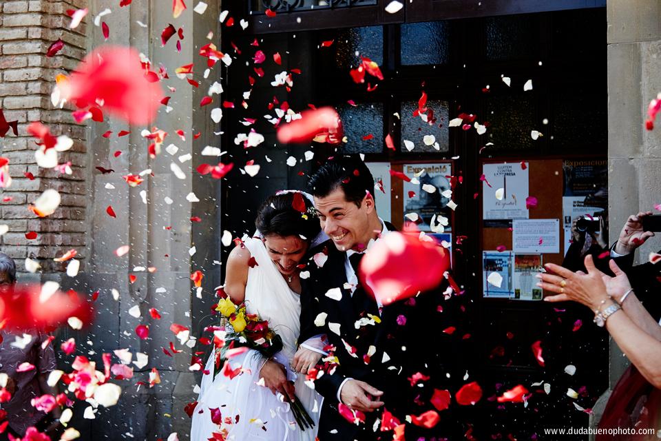 Sesión fotos de boda en Rubi