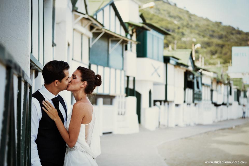Post boda en la playa de Garraf