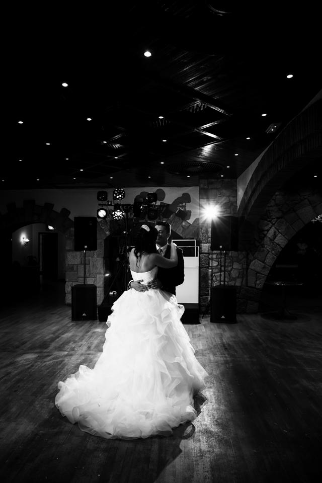 El primer baile de Mónica y Dani