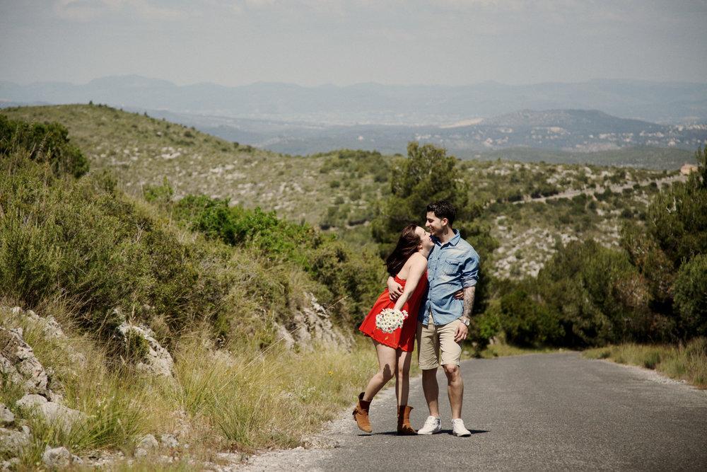 Preboda - Love Session de Noe y Gabi en el Parc del Garraf