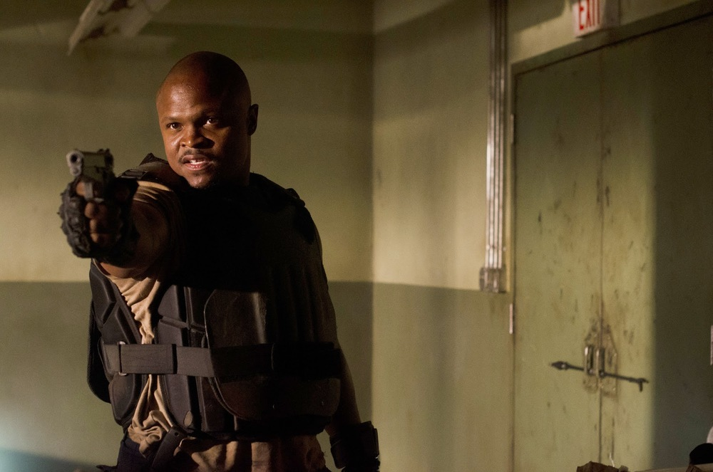 "IronE Singleton as T-Dog on AMC's ""The Walking Dead"" Photo by Gene Page/ AMC"