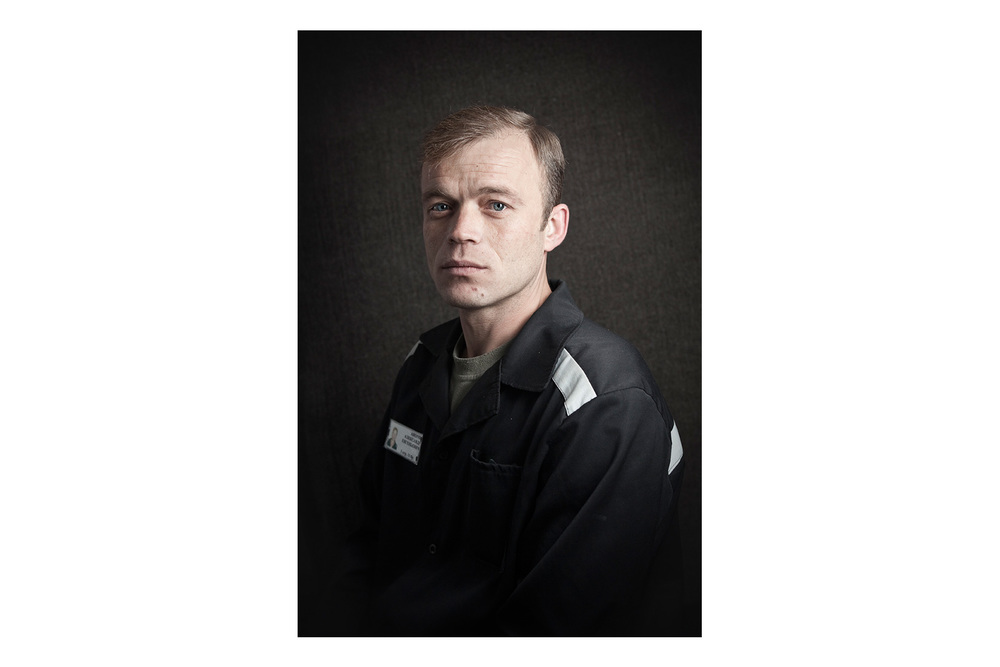 Inmate. High security prison, Penza, Russia