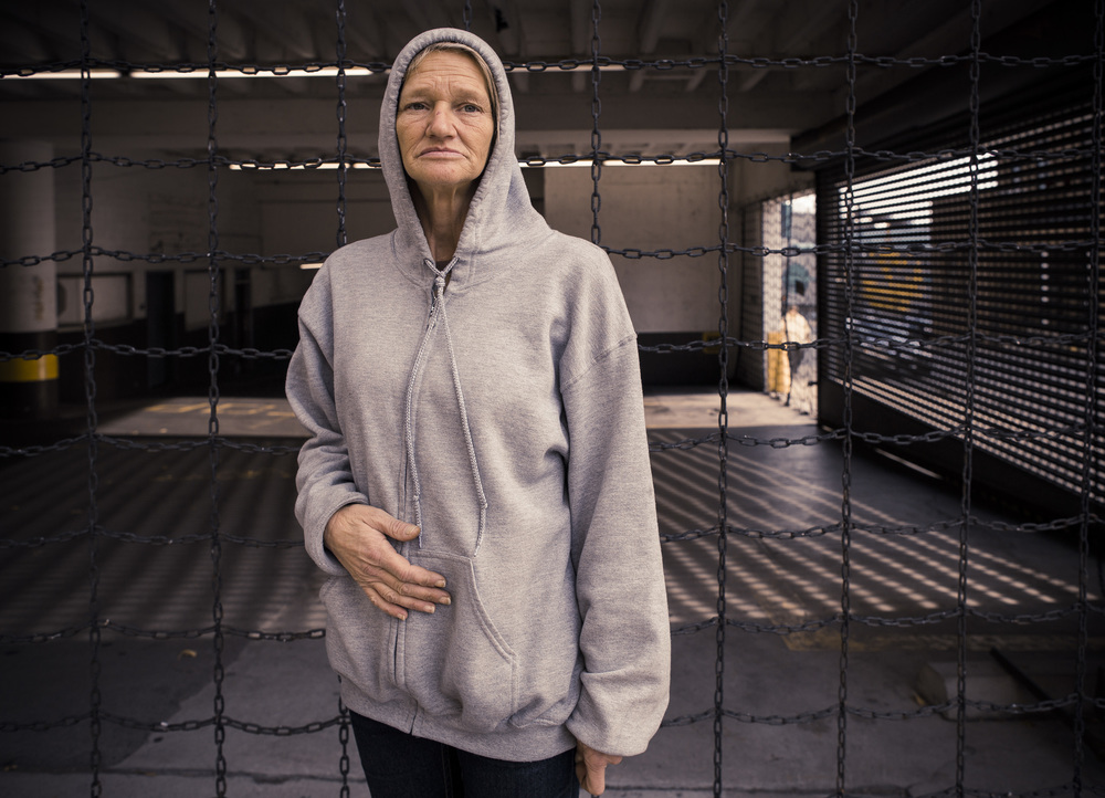Woman in Hoodie, Tennessee, Tamara Reynolds