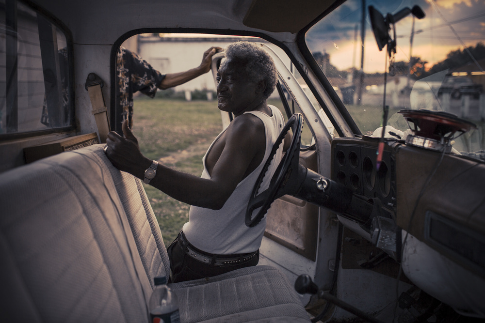 Man in Truck, Mississippi