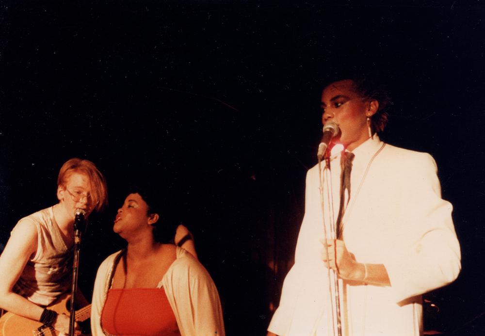Todd Butler, U-Haul Gina and RuPaul.