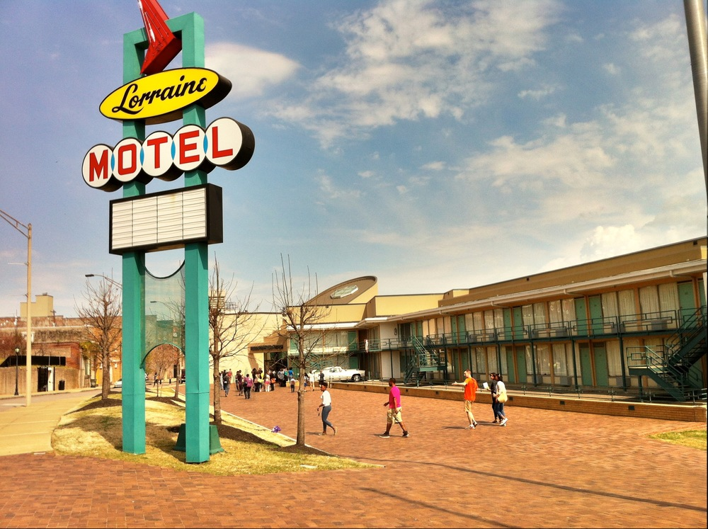 The Lorraine Motel in its present form as a Civil Rights landmark.