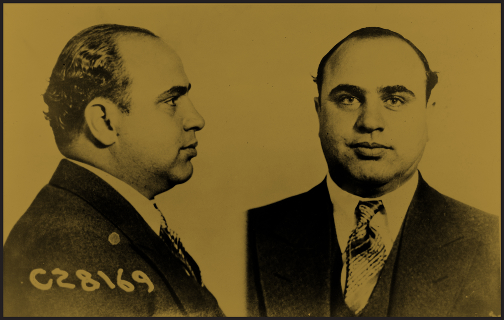 The man himself — Al Capone.