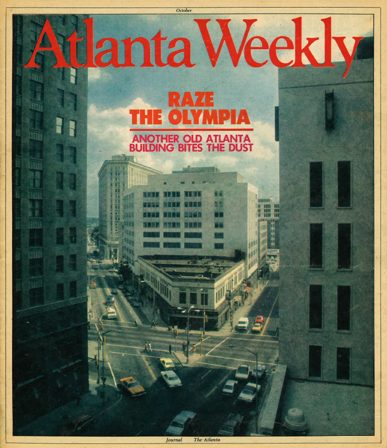 ARCHIVAL ATLANTA WEEKLY