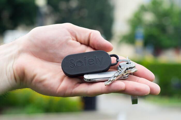Gosafely keychain
