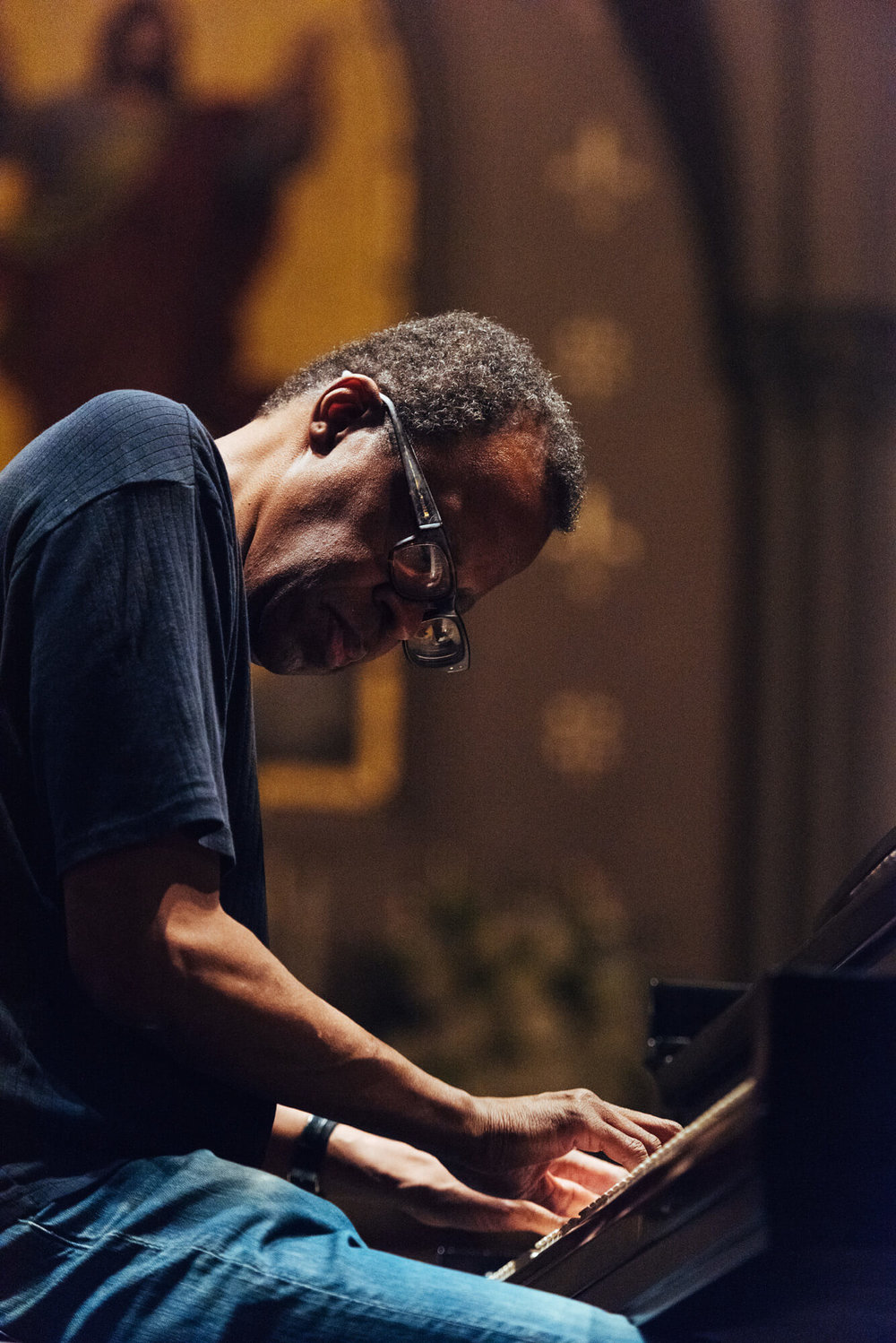 Matthew Shipp. Photo by Andrew Gresham