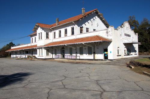 Atlanta, Birmingham & Atlantic Railroad Depot,Fitzgerald