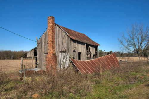 Board-and-Batten Tenant Farmhouse, Tattnall County