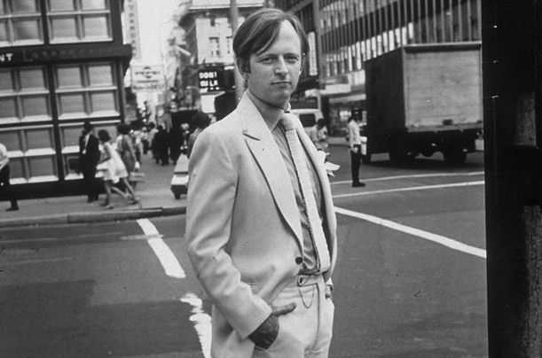 Tom wolfe in New York city | photo by sam falk