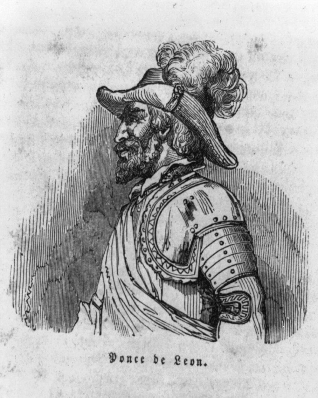 Spain's Juan Ponce de Leon