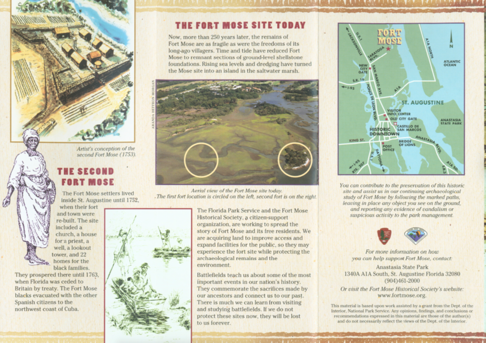 click to enlarge the image of the  park brochure