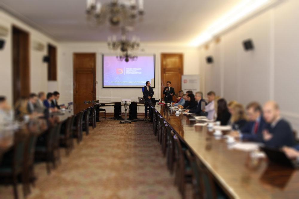 Walne Spotkanie PZIP - Spotkanie w sprawie zatwierdzenia projektu Kodeksu Odpowiedzialnego Pożyczania branży pożyczkowej.17 stycznia 2019 Warszawa