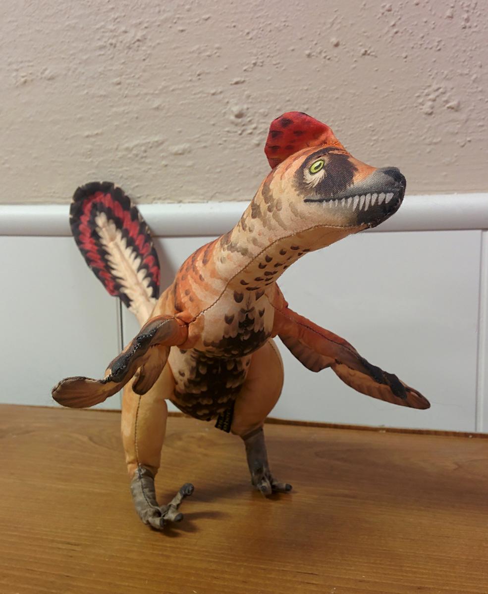 VelociraptorPlushie