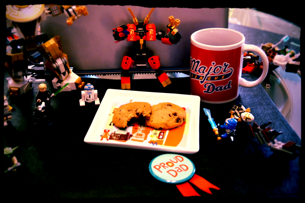 Coffee, Cookies, and Legos