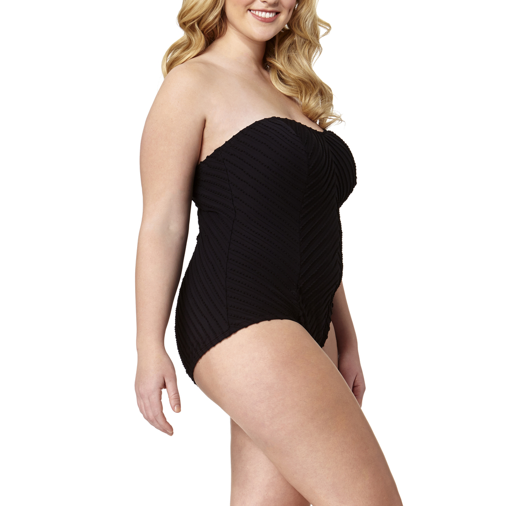 Petal Textured One-Piece